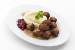 kottbullar med potatismos