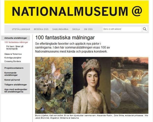 NAtionalmuseum cu Zoie Ghika