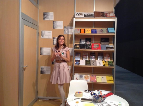 cartile mele la Madrid, tirgul LIBRE, cu Nicoleta Vutescu, oct 2015