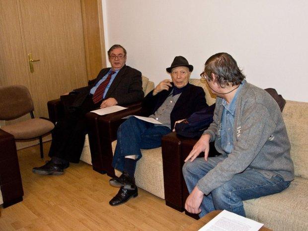 Liviu Radu, Ion Hobana, Stefan Ghidoveanu